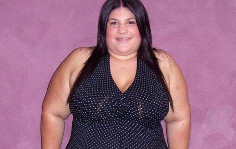 Mladá žena zhubla 65 kilo.