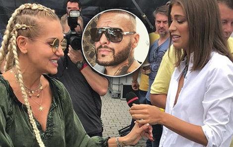 Bývalá a současná přítelkyně rappera Rytmuse Dara Rolins s Jasminou Alagič se setkaly tváří v tvář.