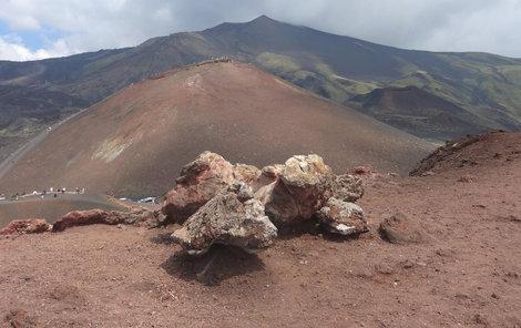 Sicílie Etna
