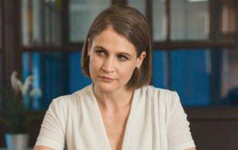 Tereza Hofová v seriálu Dáma a Král