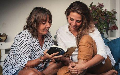 Spolupráce na knížce Pane Bůh, tady Anna