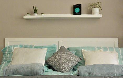 Zařiďte si ložnici či obývák v barvě moře...Tyrkysové!