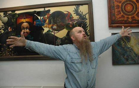 Slavný malíř Libor Vojkůvka (†71) utrácel za .