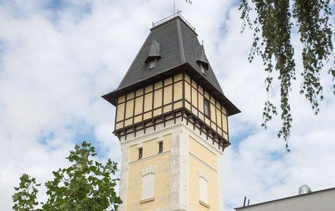 Vodárenská věž v Českých Budějovicích
