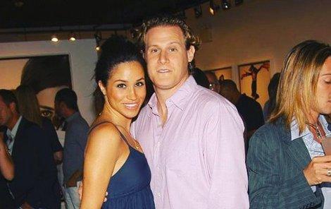 Meghan Markle s exmanželem Trevorem Engelsonem