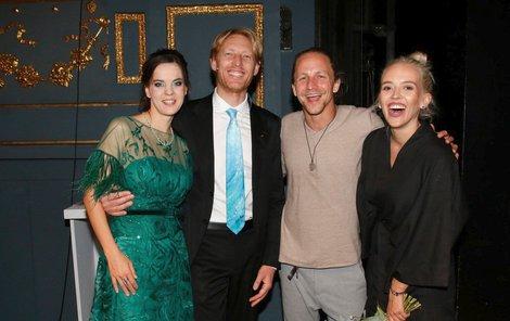Tomáš a Tamara s Karlem Janáčkem a Liliou Khousnoutdinovou