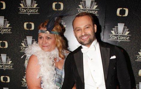 Pavla Tomicová s Markem Dědíkem.
