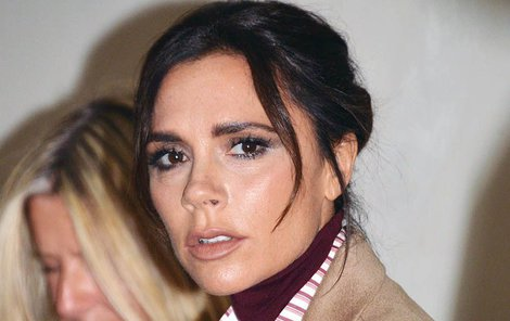 Victoria Beckham se po Davidově kritice zhroutila.