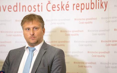 Ministr spravedlnosti Jan Kněžínek (za ANO)
