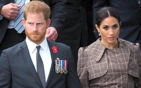 Meghan Markleová a princ Harry.