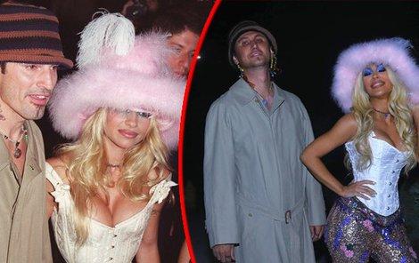 Kim vychytala outfit do posledního detailu, nikdo v ní ale Pamelu Anderson neviděl.