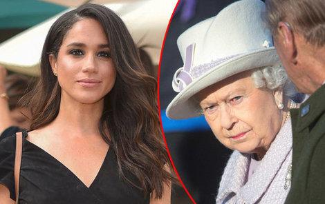 Královna už došla s Meghan trpělivost.