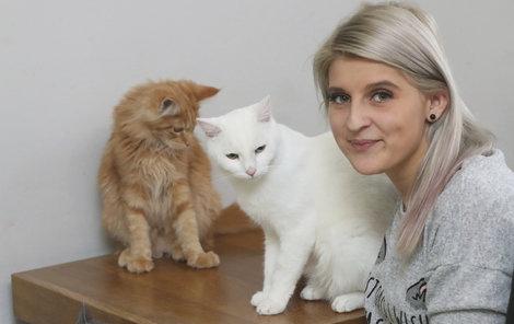 Krystýna a její kočičky
