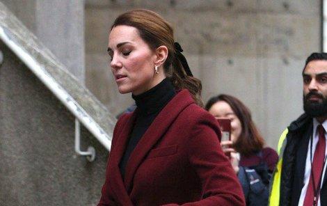 Vévodkyně Kate se nestačila divit.