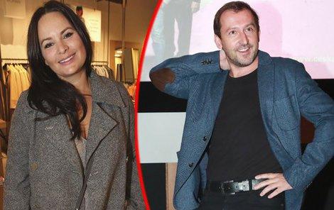 Jitka Čvančarová a Martin Hofmann si společně zahráli v seriálu Most!