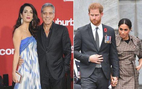 Goerge Clooney se nechtěně přeřekl.