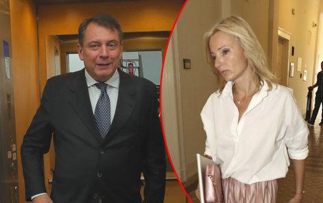 Jiří Paroubek Petru Paroubkovou nešetří.