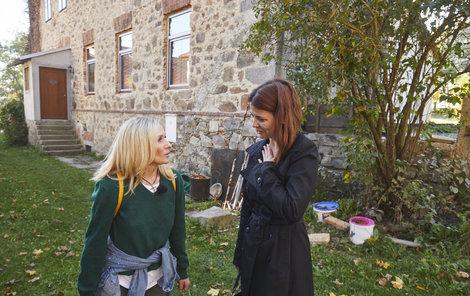 Maminka Kristýna s Terezou Pergnerovou