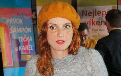 Herečka Míša Maurerová