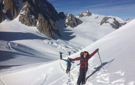Mráz a sníh ocení především lyžaři.