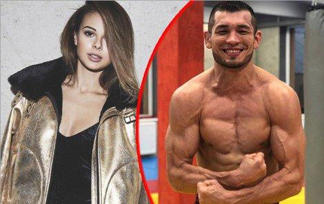 Nový přítel Bagárové, zápasník Makhmud Muradov.