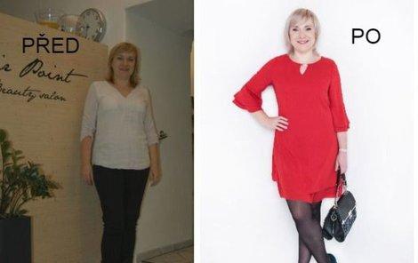 Paní Irena před a po proměně