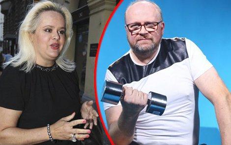 Štiková tvrdí, že její manžel lže o celém rozvodu.