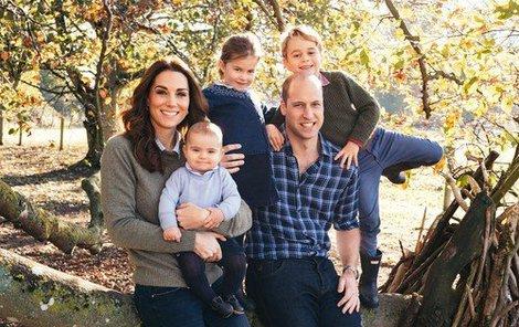 Krásná královská rodina