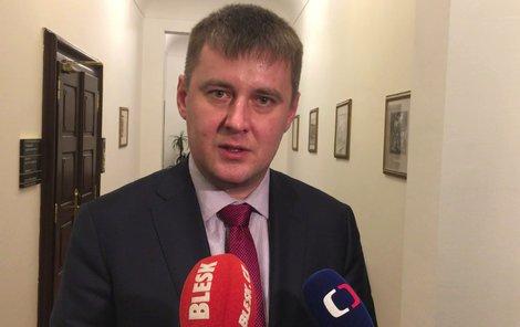 Ministr zahraničí Petříček (ČSSD)