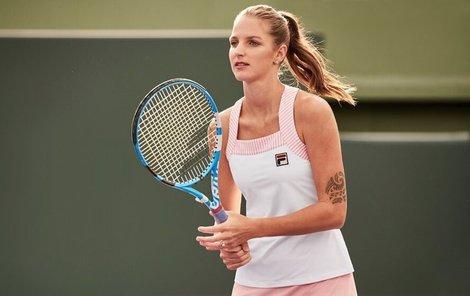 Plíšková ve sladkém oblečení pro Australian Open