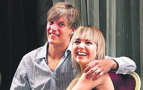 Kdysi Tomáš Verner randil s Lucií Vondráčkovou.