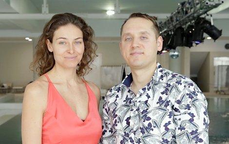 Marina Kazankova (37) a její ukrajinský kolega Dmitrij Malašenko (34)