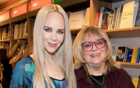 Naďa Urbánková s dcerou Janou Fabiánovou.