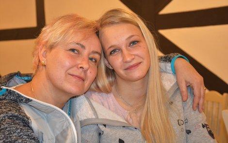 Iva s dcerou