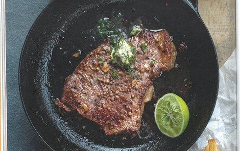 Steak s máslem