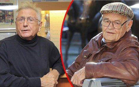 Dva velikáni mezi režiséry Jiří Menzel (80) a Václav Vorlíček (†88).
