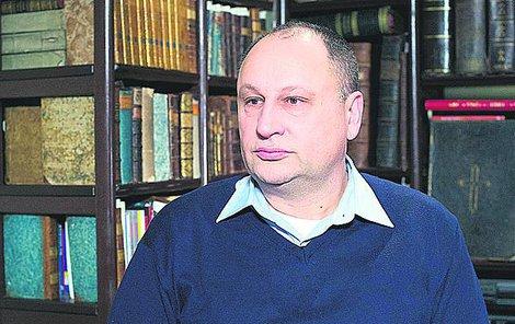 Historik Luděk Navara.