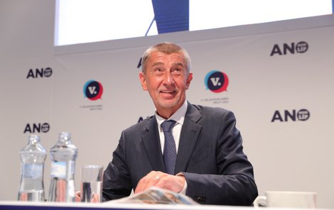 Andrej Babiš na volebním sněmu ANO (21.2.2019)