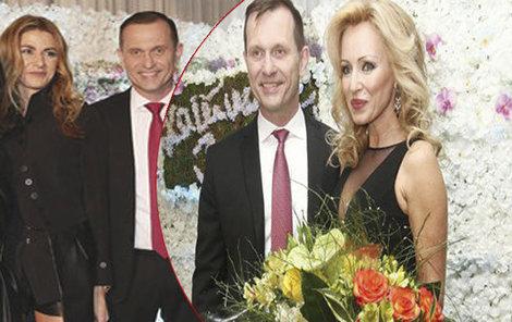 Kateřina Brožová na Soukupově oslavě letos chyběla.