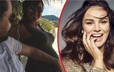 Ewa Farna měsíce tajila těhotenství.