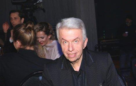 Jaroslav Svěcený na Cenách Anděl