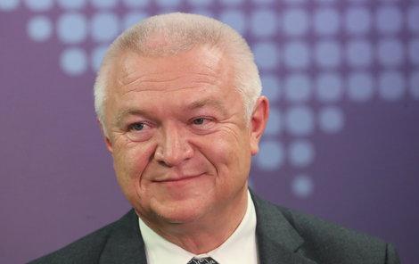 Šéf poslaneckého klubu ANO Jaroslav Faltýnek