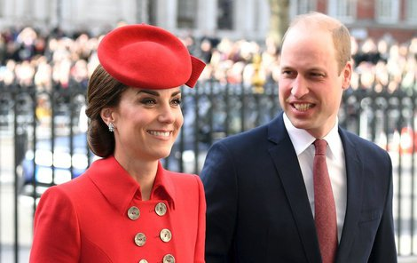 Kate Middleton a princ William