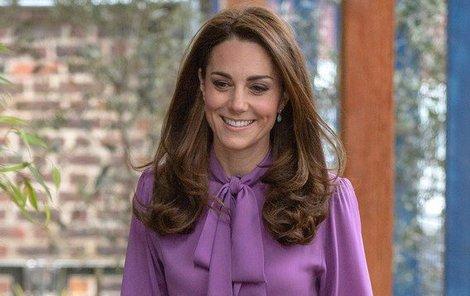 Vévodkyně Kate bez jedné věci na cesty zásadně nevyráží.