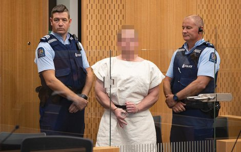 Tarrant zaútočil na mešity ve městě Christchurch.