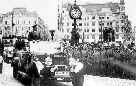 Okupace Československa v březnu 1939 přinesla i změny v dopravě