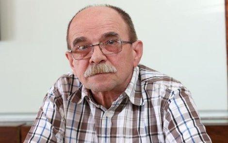 Skladatel Jaroslav Uhlíř si na srdce dává pozor.
