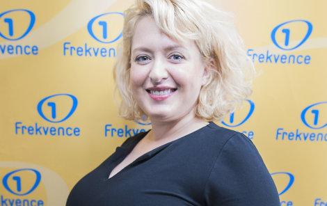 Vnadná herečka Miluše Bittnerová v pátém měsíci těhotenství