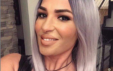 Anife Vyskočilová změnila barvu vlasů.