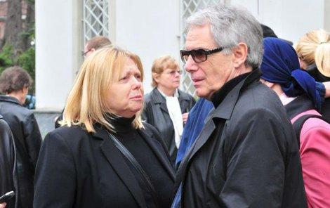 2010 Josef Laufer s manželkou Irenou Greifovou.